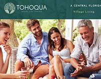 Tohoqua Logo and Web Design