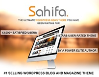 Sahifa - Responsive WordPress News / Magazine / Blog Th