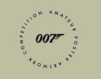 007 James Bond - Anniversary Poster
