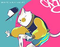 Sk8er Cat
