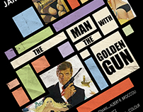 "Rediseño Póster ""The man with the golden Gun"""