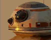 BB-8 quick color study