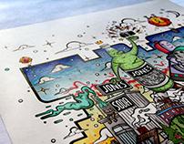 Jones Soda: Mural