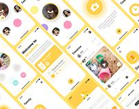 Dinophone - Mobile App UI
