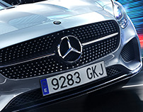Mercedes AMG GT motive