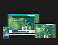 Responsive Web-portal Design | Internship Project