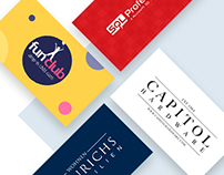 Set of corporate identities