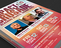 Gospel Crusade Flyer Template