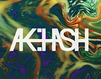 visual identity for ak:hash / 2016
