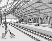 Architecture / Railway station II
