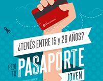Pasaporte joven | Identidad visual