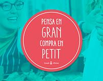COMPRA EN PETIT - Small shopping campaign