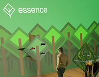 Essence clothing brand Point of Sale