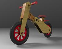 Balance bike 3D project