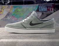 Skate shoes Instagram series - posts for AW LAB