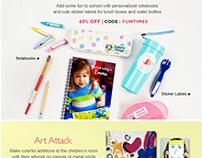 Visual designer, Typography : Digital Emailer