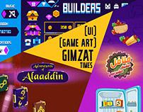 [2D Game Art] Gimzat Times