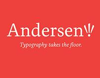 Andersen typeface