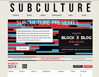 Subculture Website
