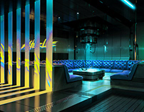 Cyberpunk 2077 Concept Art / pt1 / Club interiors