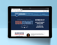 ISOA Summit 2016 | Registration Mobile CMS