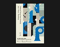 Jazz Music workshop Poster