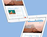 Web responsive multiscript Diario Calle de Agua