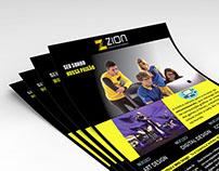 Flyer | Escola Zion
