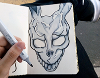 #sketch Donnie Darko