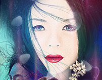 Memoirs of a geisha alternative poster digital painting