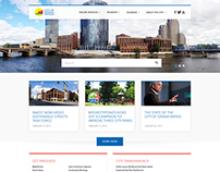 2013 - City of Grand Rapids - Home Page Redesign