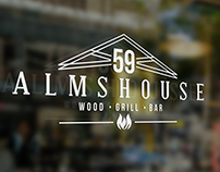 59 Almshouse - Logo and Business Cards design