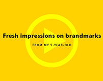 Fresh Impressions on Brandmarks (from my 5-year-old)