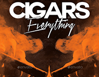 Cigars Everything | Luxury Chic Flyer PSD Template
