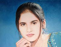 SHABNAM | Oil Color Painting