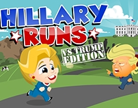 Hillary Runs Mobile Game