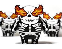 Skeltong Papertoy