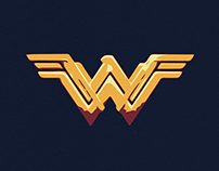 Wonder Woman - Movie Poster - Minimalist - 2017
