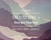 Concert Poster - Seed to Tree