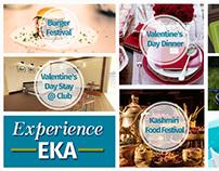 EKA Club - #ExperienceEKA Social Media Campaign