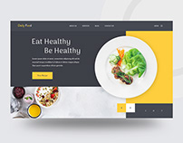 Daily Food // UI Exploration