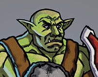 Homeless Orc