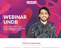 Landing Page: Webinar UNDB 2020
