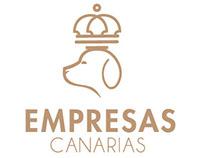 Web and Logo design - Empresas Canarias
