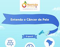 Danone - Infográfico sobre o câncer de pele