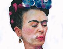 Ilustrações a Lápis de cor.