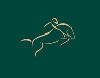 Horsejump logo design