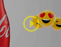Coca smiles