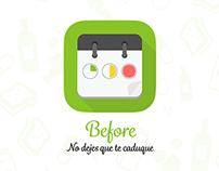 App design: Before