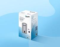 Packaging / Campaña de termas Rotoplas